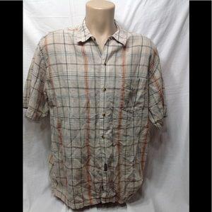 Men's size Large DOCKERS casual button-down shirt